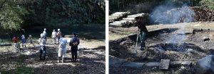 竹林浴体験の様子02